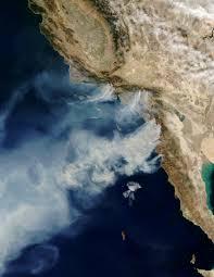 California Wildfires San Diego by Nasa Nasa Satellites Watch California Wildfires