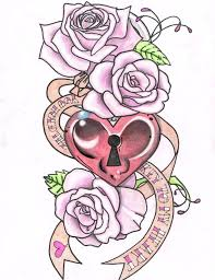 design girly pretty tattoos for
