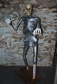 Grave Digger Halloween Costume Paper Mache Haunting Grounds