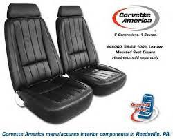 1968 corvette seats corvette c3 1968 1982 mounted seat covers corvette c3 mounted seat