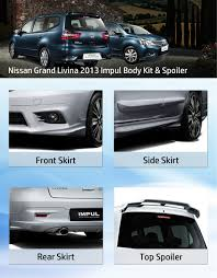 nissan almera nismo bodykit megasole body kit and spoiler for nissan grand livina 2013 ms bk 20