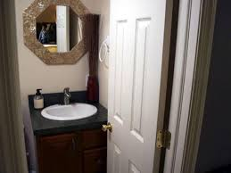 small half bathroom design idea half bath to a full bath bathroom