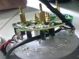 modifikasi speedo meter vixion dengan led alva s