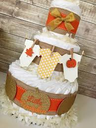 fall baby shower centerpiece fall baby shower diaper cake autumn