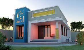 Kerala Home Design With Budget 640 Sq Ft Low Cost Single Storied Modern Home Design Home Interiors