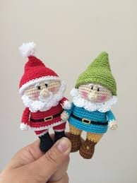 Amigurumi Christmas Ornaments - 355 best amigurumi christmas winter images on pinterest