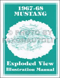 1967 repair shop manual original mustang fairlane ranchero falcon