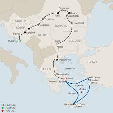 Aegean Sea Map Greece Tours Globus Europe Tours