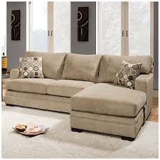 Circa Taupe Sofa Chaise Simmons Columbia Stone Sofa With Reversible Chaise At Big Lots