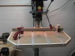 Drill Press Table Finally Finished The Drill Press Table Fence