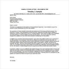 Sample Resume For Camp Counselor Summer Camp Counselor Cover Letter