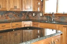 slate backsplashes for kitchens kitchen backsplash ideas with granite countertops granite and tile