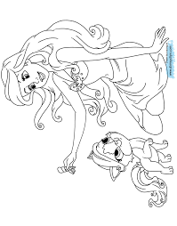 princess palace pets coloring pages at coloring book online