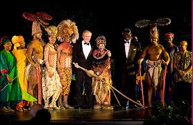 photo call lion king performs white house dinner playbill