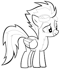 5 wonderful pony printable coloring pages ngbasic