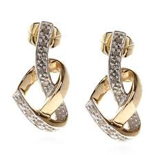 diamond earrings sale josephs 1870 9ct gold heart diamond earrings designer