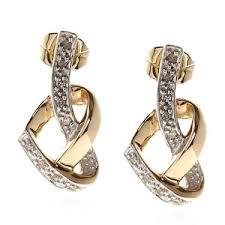 diamond earrings sale josephs 1870 9ct gold heart diamond earrings designer
