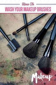 Makeup Schools In Texas How To Properly Wash Makeup Brushes Cosmetology U0026 Beauty
