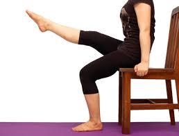 tone legs while sitting