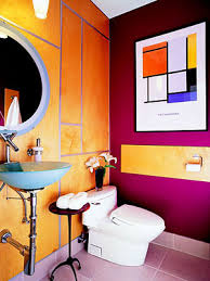 Bright Yellow Bathroom by 43 Bright And Colorful Bathroom Design Ideas Digsdigs