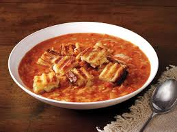 ina garten tomato easy tomato soup and grilled cheese croutons recipe ina garten