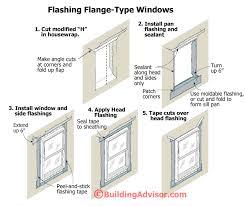 framing a window leakproof window flashing how to buildingadvisor