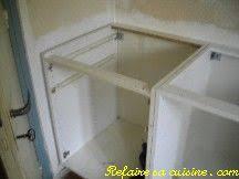 fixation meuble bas cuisine refaire sa cuisine modification et pose des meubles bas