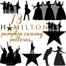 13 hamilton pumpkin carving patterns and printable stencils