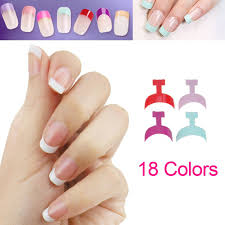 aliexpress com buy half false nail art painting nail tips clear