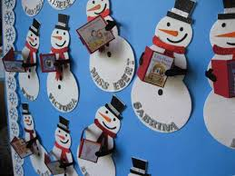 winter classroom door decorations for christmas snowman decoration