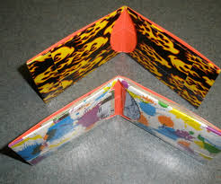 thin duct tape wallet 3 steps with pictures