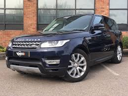 land rover range rover sport used blue land rover range rover sport for sale leicestershire