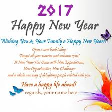 new year 2017 wishes greetings for friends and family