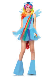 crayon halloween costume party city rainbow dash costume girls
