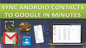 contact sync android how to sync android contacts to gmail contacts
