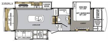 cardinal rv floor plans cardinal luxury fifth wheel rv sales 8 floorplans