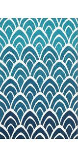Blue Wave Rug Blue Ombre Wave Rug Mecox Gardens