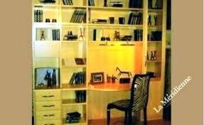 bibliothèque avec bureau intégré bureau bibliothaque intacgrac bibliotheque avec bureau meuble