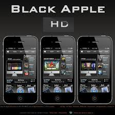 best dreamboard themes for iphone 6 black apple hd by kuanyuchen on deviantart