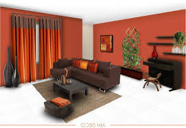 orange and brown combination bedroom paint colors home combo