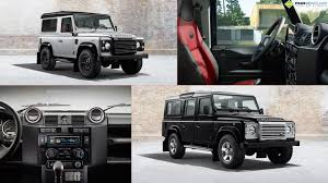 land rover defender black land rover defender black u0026 silver packs