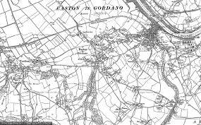 easton map maps of easton in gordano francis frith