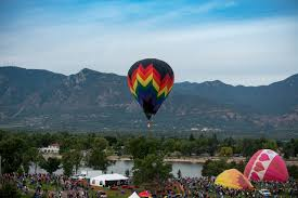 Colorado Travel Click images Gallery colorado springs labor day lift off hot air balloon jpg