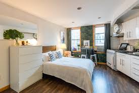 6 Stylish Manhattan One Bedrooms - nyc micro apartments curbed ny