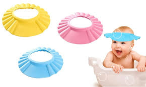 baby shower cap adjustable baby shower cap and shield groupon
