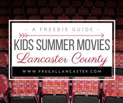 free summer movies in lancaster county