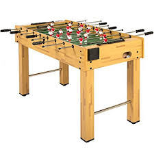 space needed for foosball table amazon com best choice products 48 foosball table competition