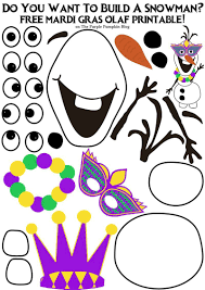 do you want to build a snowman mardi gras olaf edition the