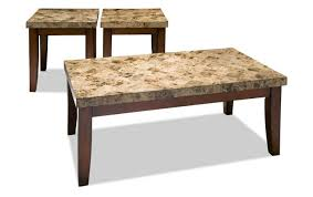 bobs furniture coffee table sets awesome montibello coffee table set bobs discount furniture coffee