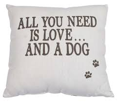 wholesale reversible 16 x 16 u201d cushion cover with a quote u0026 pug